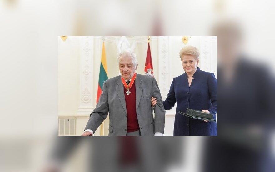 Dalia Grybauskaitė and Zigmas Zinkevičius