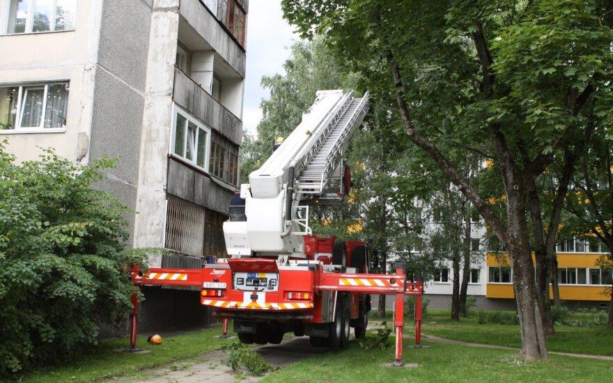 Naujas Vilniaus planas: nepatrauksi automobilio – ugniagesiai neatsakys už žalą