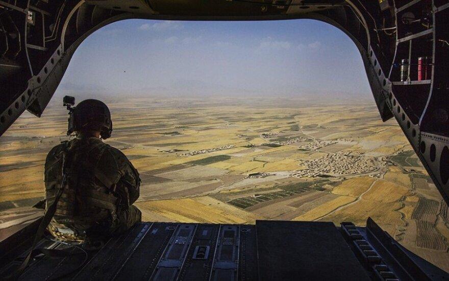 Ukrainos kariams anksčiau laiko teko palikti tarnybą tarptautinėje misijoje