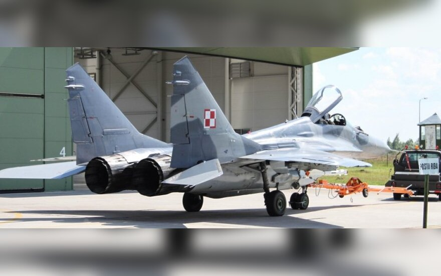 NATO jets scrambled from Šiauliai twice Tuesday over Russian airplanes