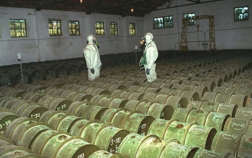 ES paskelbė sankcijų Rusijos ir Sirijos pareigūnams už cheminio ginklo naudojimą