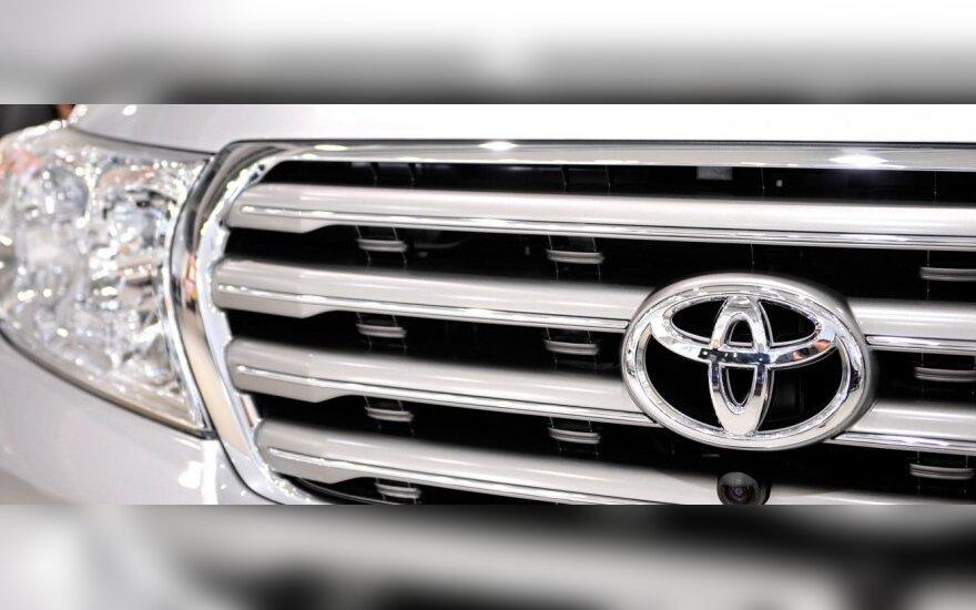 """""""Toyota"""" automobiliai – populiariausi Baltijos šalyse"""