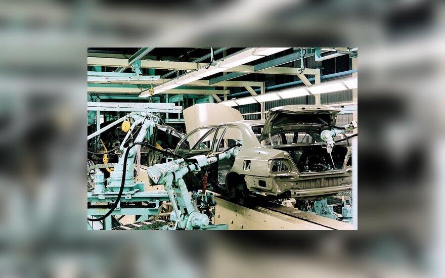Honda gamykla