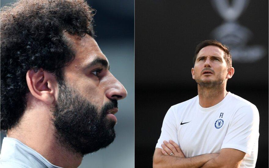 "Mohamedas Salah, ""Chelsea"" strategas Frankas Lampardas"