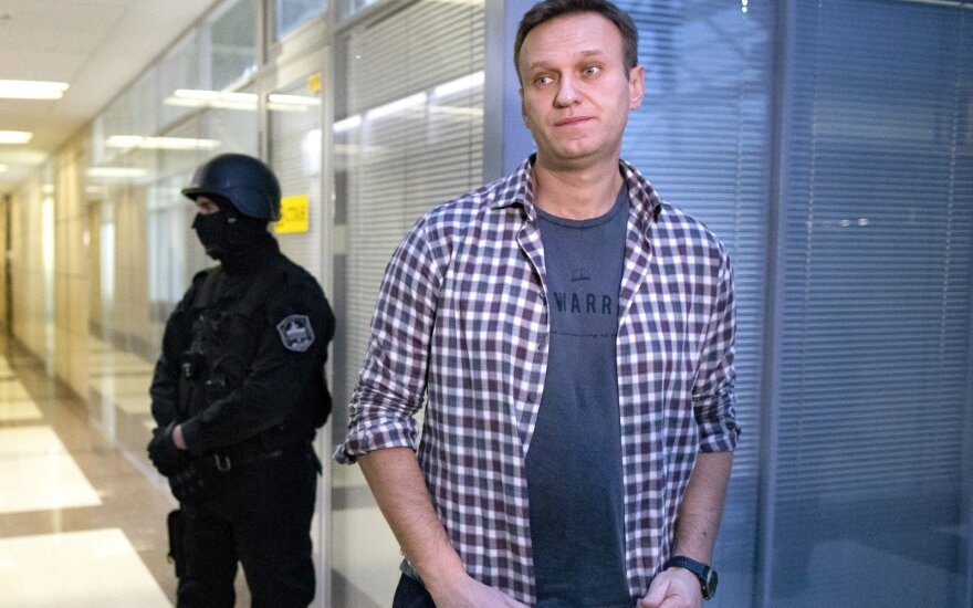 Navalnas kalės kolonijoje netoli Maskvos