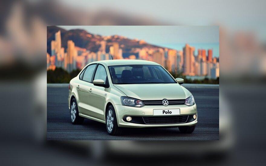 Volkswagen Polo sedanas