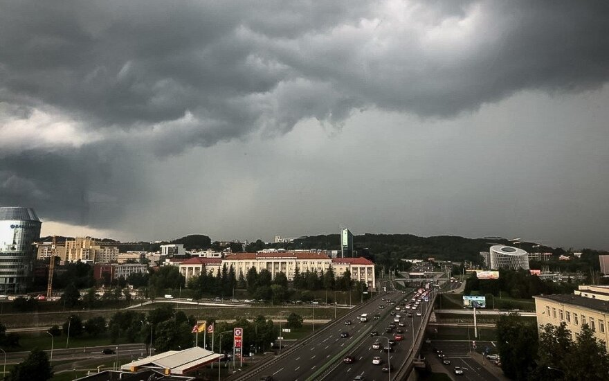 Heavy rain, squalls forecast in Lithuania on Friday and Saturday