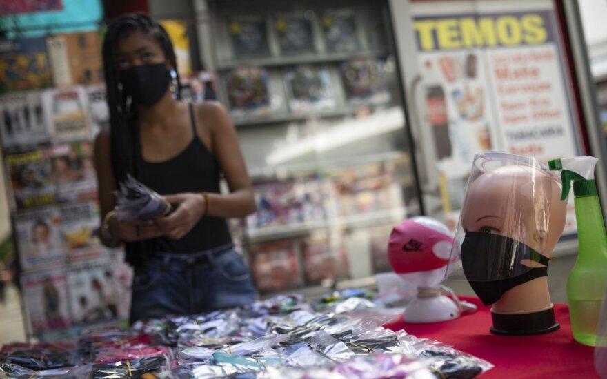 Brazilijoje praėjusią savaitę užfiksuotas rekordinis naujų COVID-19 atvejų skaičius