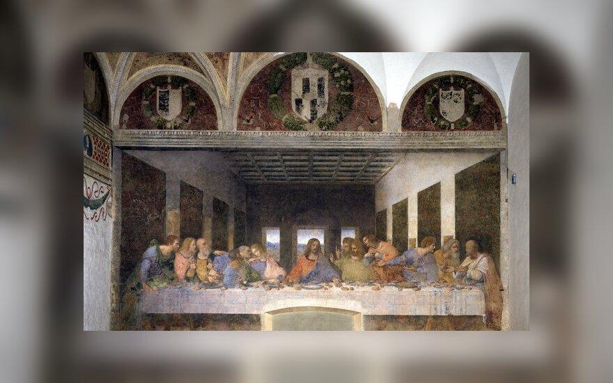 """Leonardo da Vinci """"Paskutinė vakarienė"""""""