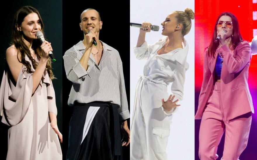 Ieva Zasimauskaitė, The Roop, Paula, Kotryna Juodzevičiūtė