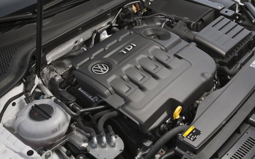 """""""Volkswagen"""" teks pakoreguoti 3 mln. automobilių variklių konstrukciją"""