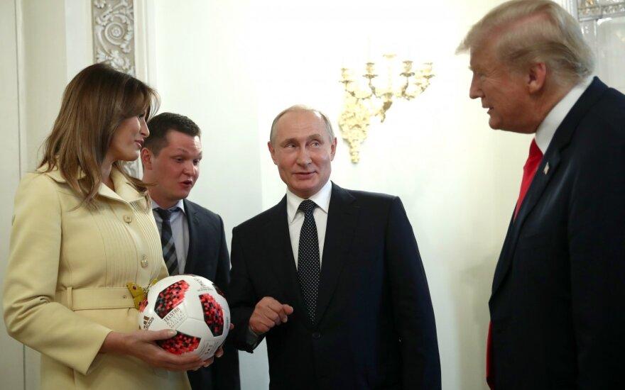 Melania Trump, Donaldas Trumpas, Vladimiras Putinas