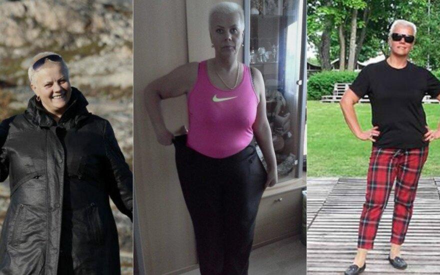 Inos sėkmės istorija: numetus 32 kg nebeatpažįsta pati savęs