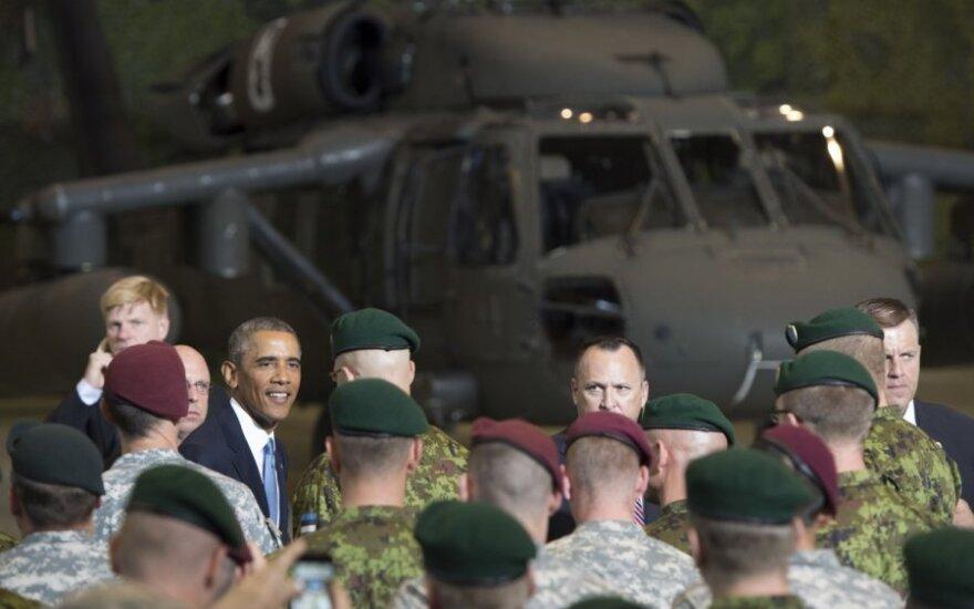 Ukrainoje – JAV vadovaujamos karinės pratybos