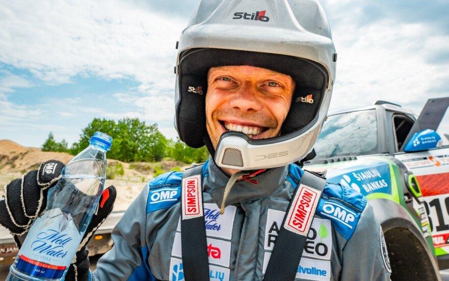 Vaidotas Žala surengė treniruotę prieš Dakaro ralį