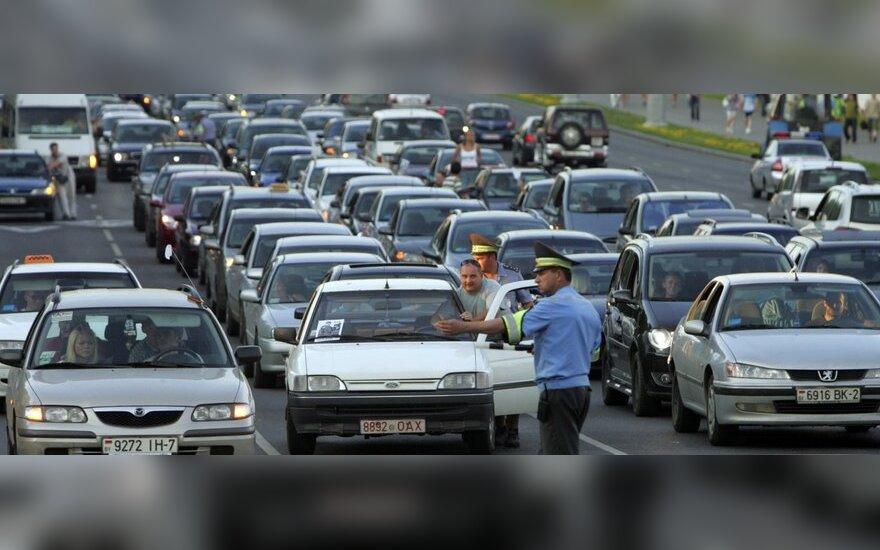 Elektroninė atsiskaitymo už kelius sistema Baltarusijoje – jau kitąmet