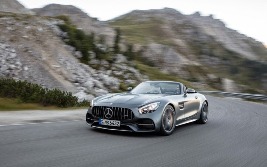 """Mercedes-AMG GT C"" rodsteris"