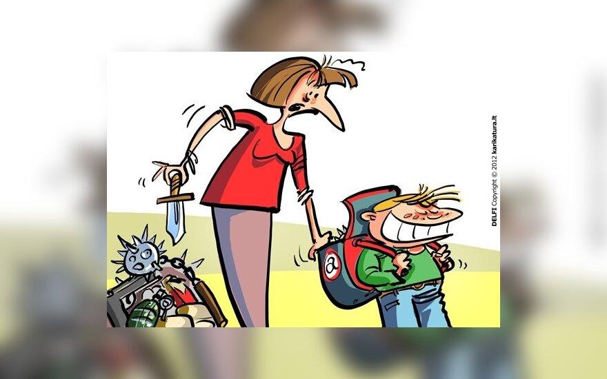Mamos: mokytojai neturi teisės tramdyti vaikų