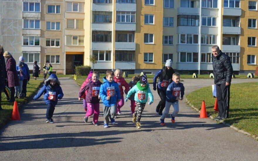 Lipniūniečiai bėgo už Lietuvos ir Zambijos vaikus