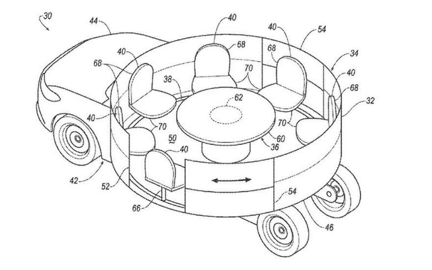 """""""Ford"""" karuselės patentas"""