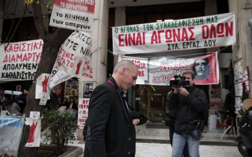 Investuotojus neramina Graikijos finansinė situacija