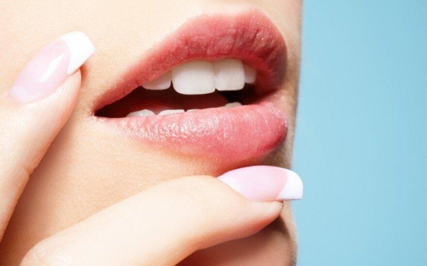 Jei norite rausvų lūpų, jums padės natūralios priemonės