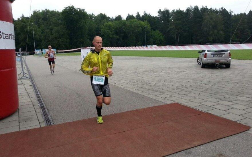 """Vilniuje pirmą kartą vyko ultramaratonas """"Baltic Cup 100 km"""""""