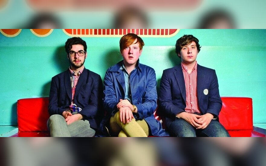"""Two Door Cinema Club"" (Kevin Baird, Alex Trimble, Sam Halliday)"