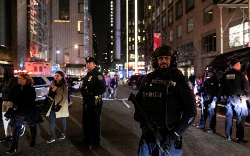 Dėl grasinimų sprogimu Niujorke evakuota CNN redakcija