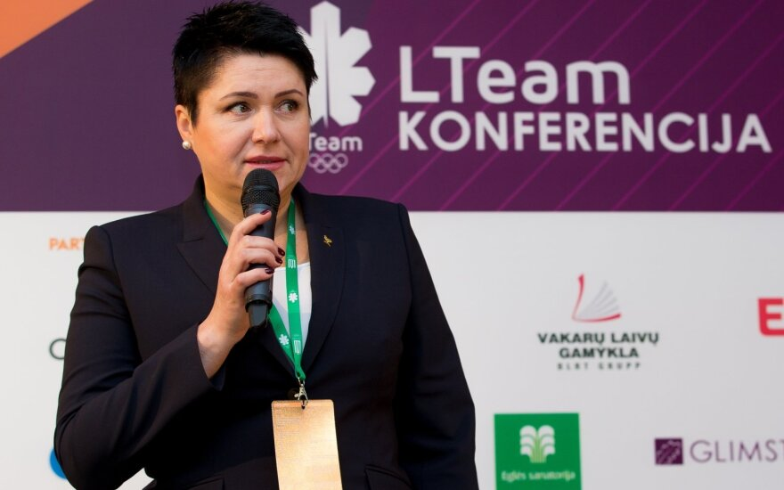 Nerimaujanti Gudzinevičiūtė: Lietuvai medalius iškovoti – vis sunkiau