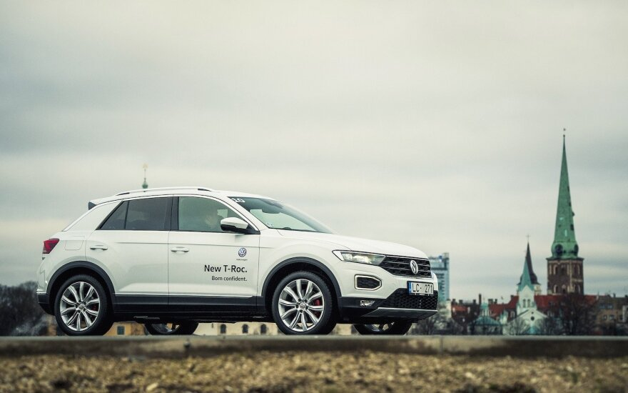 """Volkswagen"" Baltijos šalims pristatė naująjį ""T-Roc"""