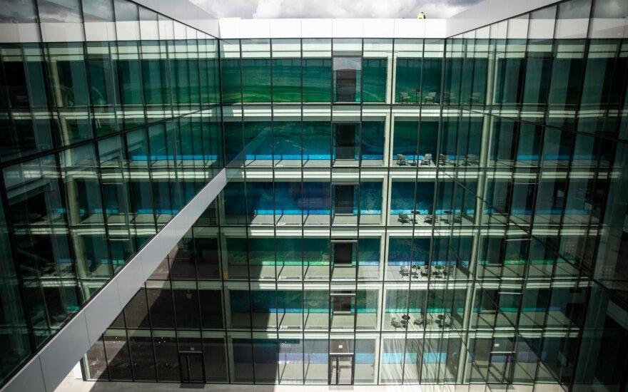 Rekordinis sandoris: švedai už 128 mln. eurų perka tris Vilniaus biurų pastatus