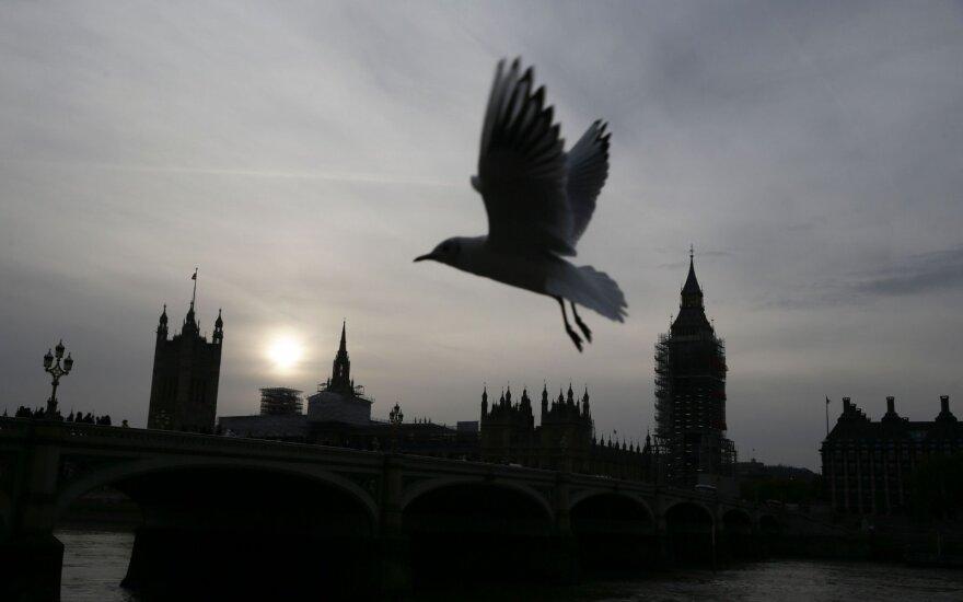 Nedarbo lygis Didžiojoje Britanijoje laikosi rekordinėse žemumose
