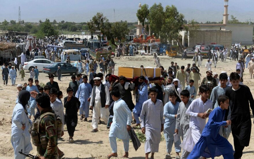 Pareigūnai: afganų specialiosios pajėgos nukovė devynis civilius