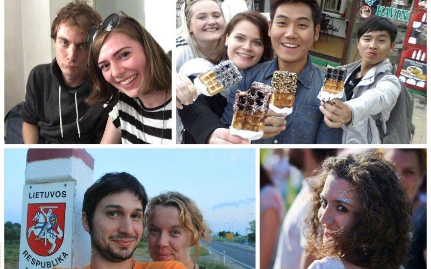 Užsieniečiai pasidalijo įspūdžiais Lietuvoje
