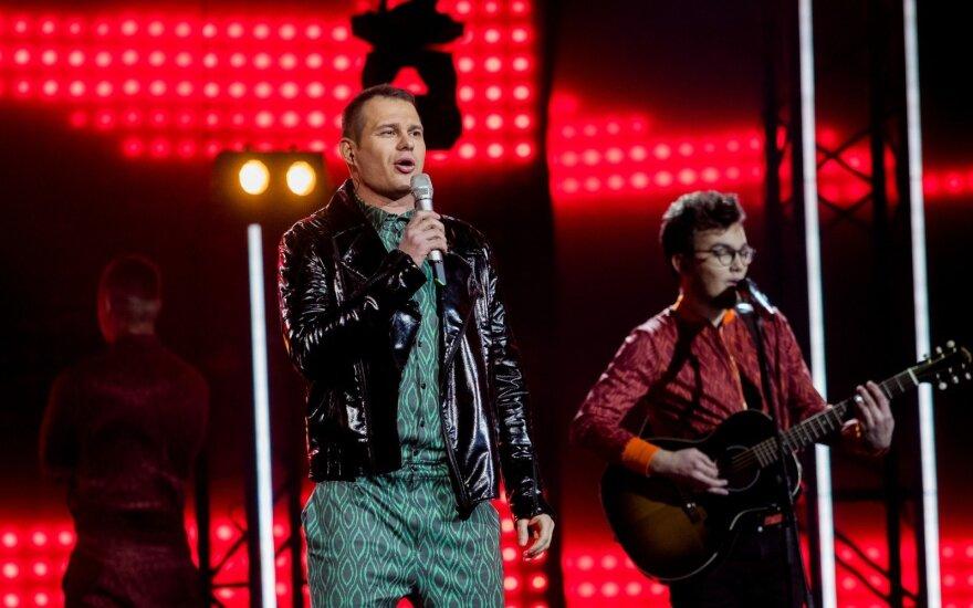 """Į """"Euroviziją"""" Soliaris žengia su nauja grupe ir dainoje užkoduota žinute"""