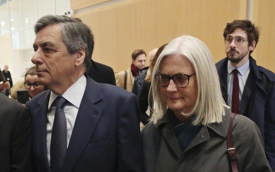Francois Fillonas su žmona Penelope