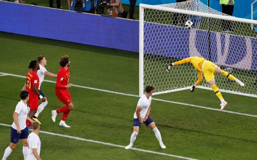 Belgija įveikė Angliją ir laimėjo grupę – aiškios visos aštuntfinalio poros