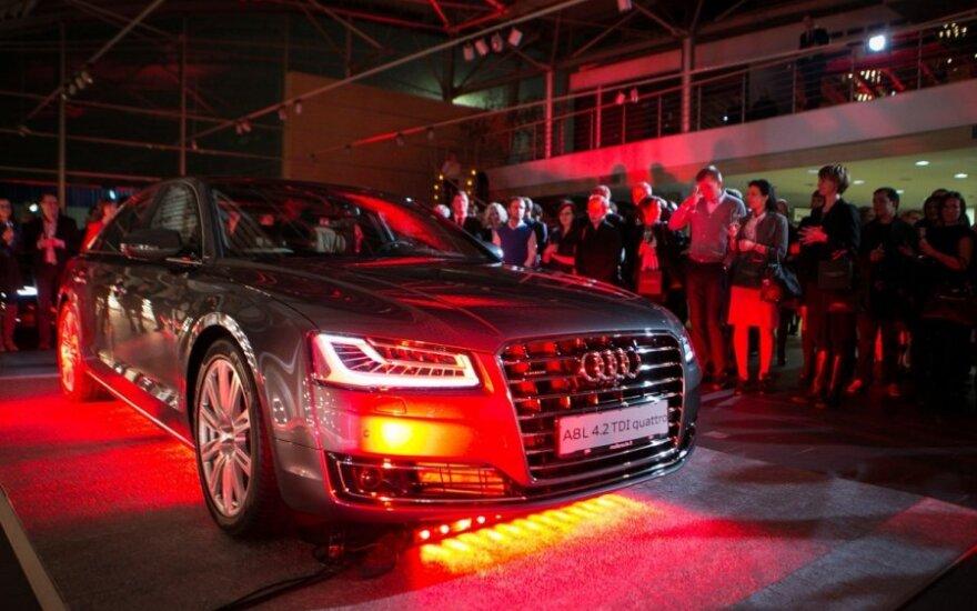 Audi A8 pristatymas