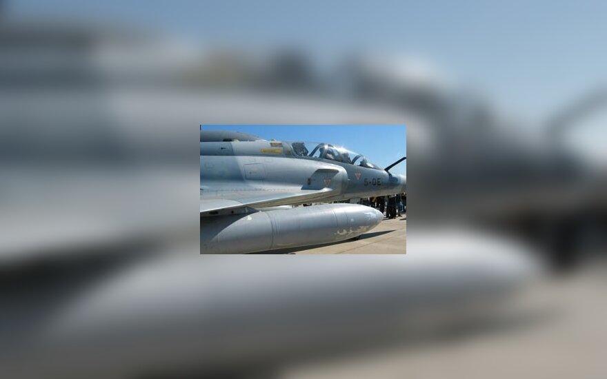 Vokietijos karius NATO oro policijos misijoje pakeis prancūzai