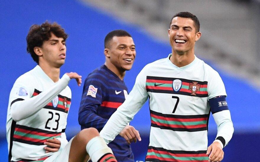 Joao Felixas, Kylianas Mbappe ir Cristiano Ronaldo