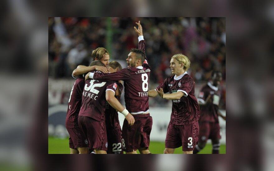 """""""Kaiserslautern"""" futbolininkai"""