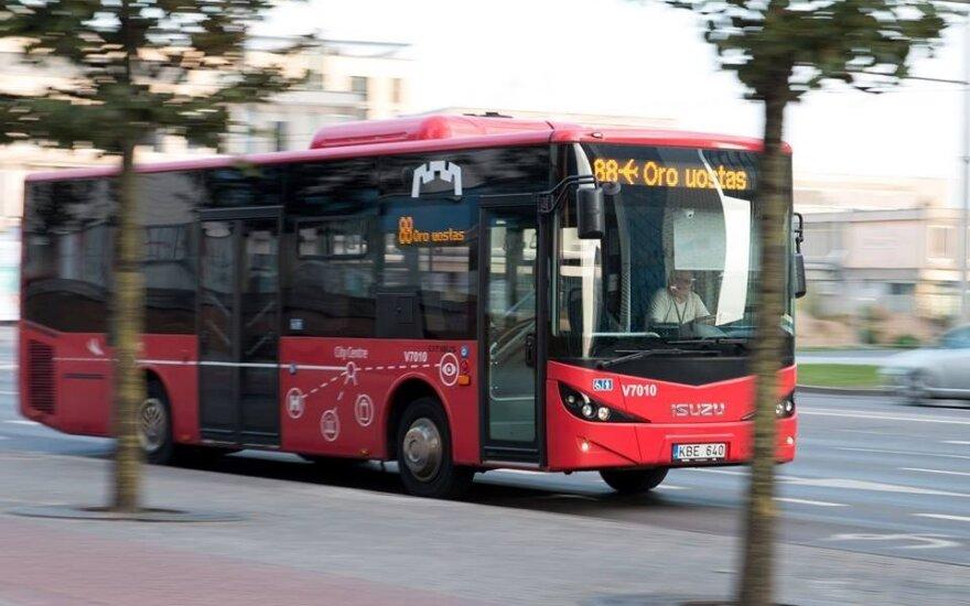 """Autobusas // SĮ """"Susisiekimo paslaugos"""" nuotr."""