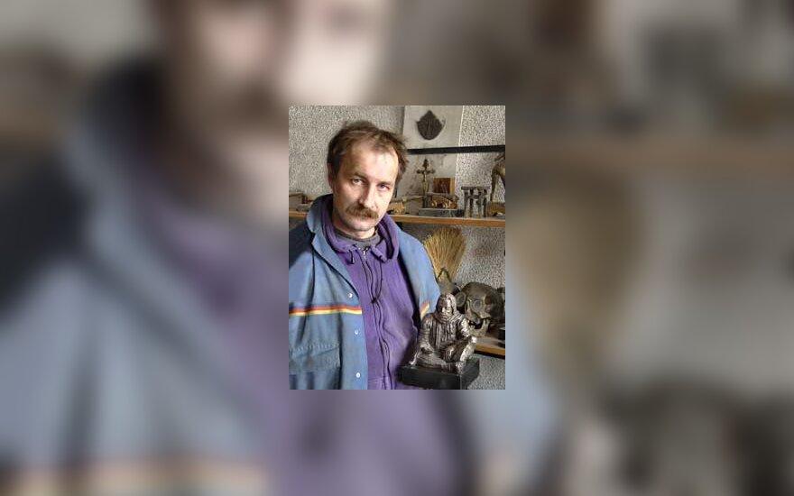 Skulptorius Svajūnas Jurkus