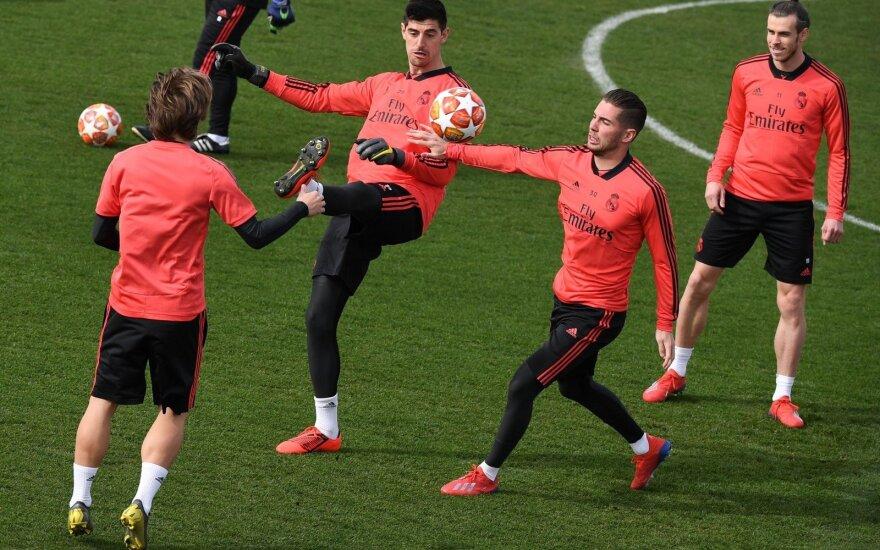 """Madrido """"Real"""" treniruotė"""