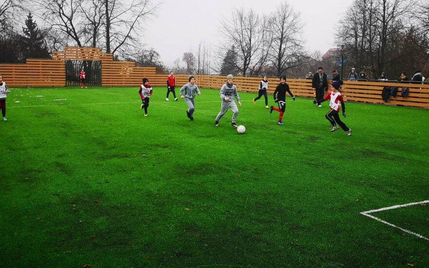 Mažojo futbolo aikštelė Naujojoje Vilnioje