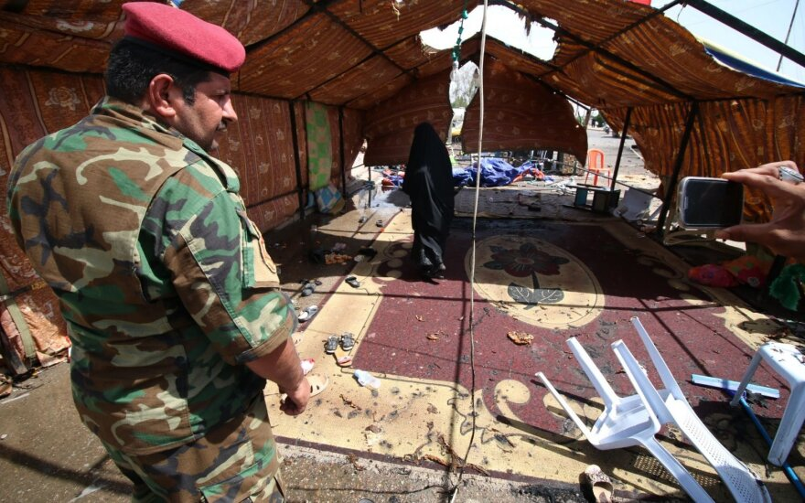 Bagdade per virtinę sprogdinimų žuvo mažiausiai keturi žmonės, dar apie 20 sužeista