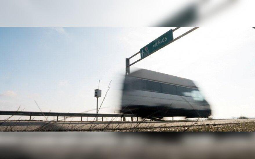 Už greičio viršijimą gautos lėšos – Kelių priežiūros ir plėtros programos finansavimui