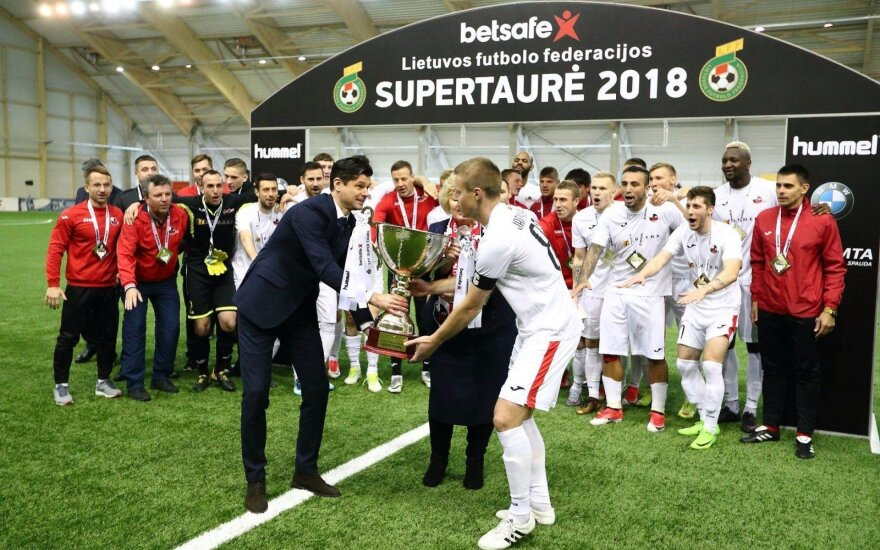 LFF Supertaurės rungtynių vietą DELFI portale išrinks aistruoliai