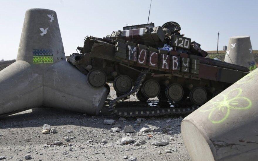 Ukrainos krizė po paliaubų pasirašymo: šaudė, bet jau nurimo